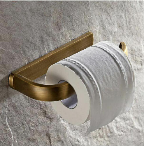 New wall mounted antique brass bathroom toilet paper Antique toilet roll holders