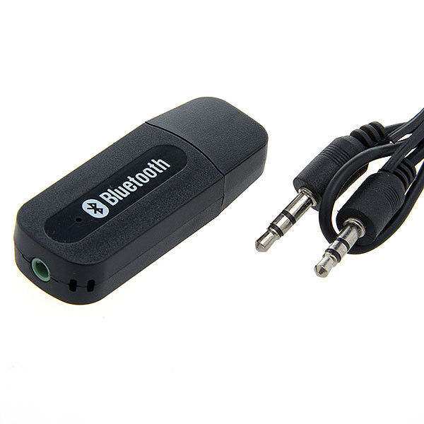Bluetooth Receiver Dongle With 3.5mm Audio Jack Mini USB