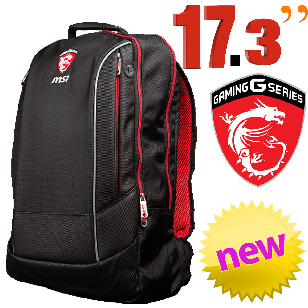 "MSI Hecate 17.3"" Laptop Backpack Bag Notebook Carry Case ..."