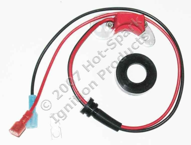 electronic ignition kit replaces single points in 1964 73 ford mustang v8 ebay
