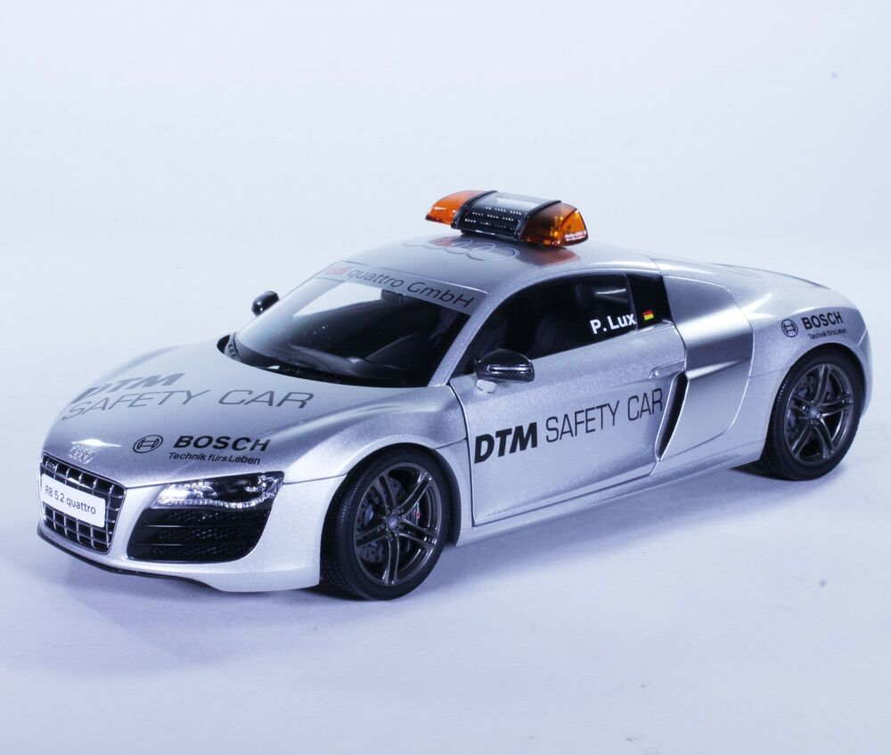 TC19 New Audi R8 DTM Safety Car Sport Coupe Gray 1:18 1/18