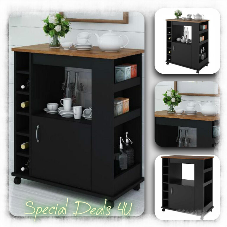 rolling kitchen cabinet shelves kitchen island cart portable rolling table utility storage 25631