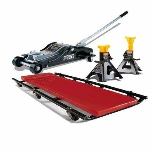 Craftsman 4 Ton Jack Stands Creeper Low Profile Lift