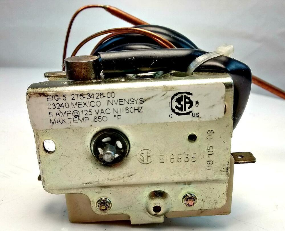 Frigidaire 318059206 Old Rv Range Stove Oven Thermostat