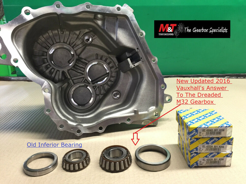 FIAT PUNTO M32 Gearbox Uprated Kit.(Big Bearings) FULLY FITTED ...