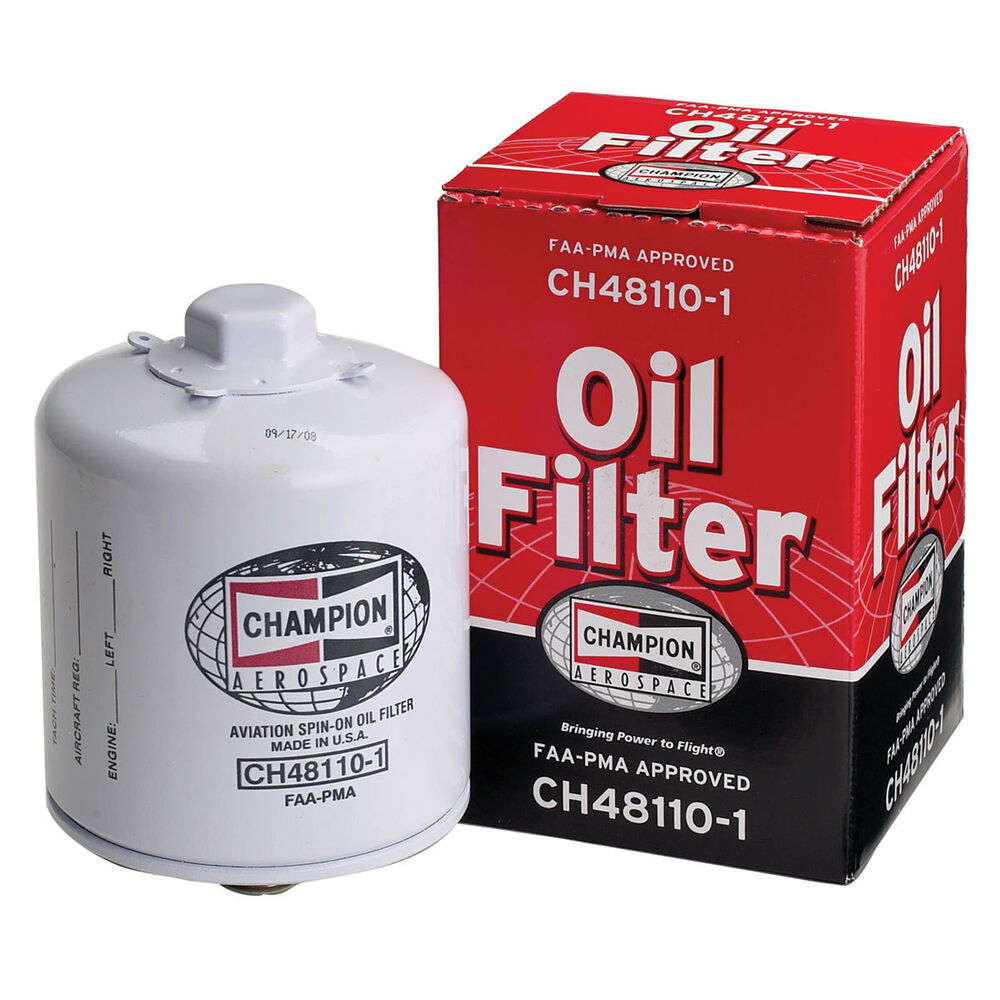 Champion Aerospace Aircraft Oil Filter Ch48110