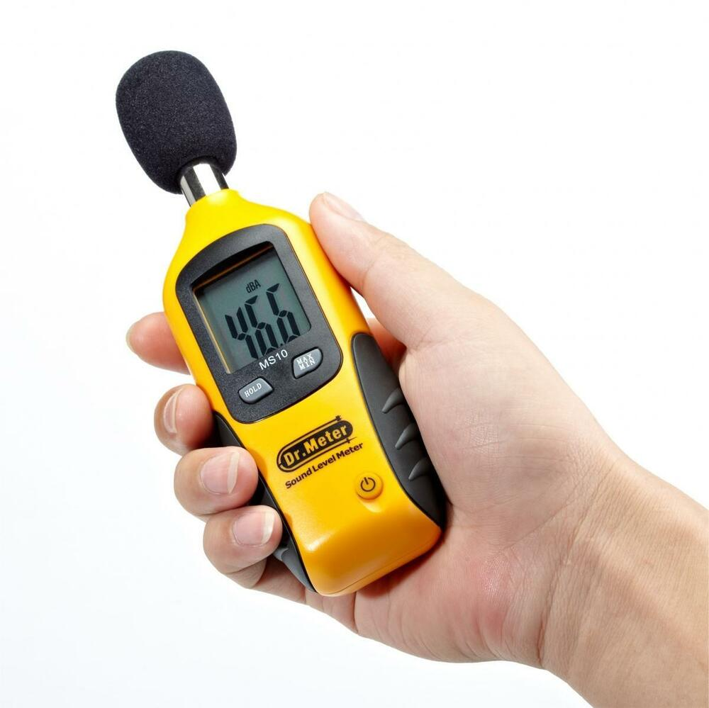 Lcd Digital Sound Level Meter Tester Noise Decibel Monitor Logger 30