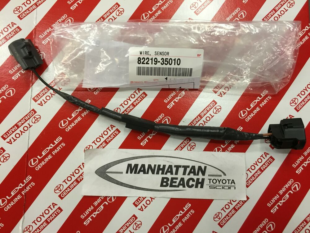 knock sensor harness genuine toyota knock sensor wire harness 3 0l v6 4runner t100 pickup 82219 35010
