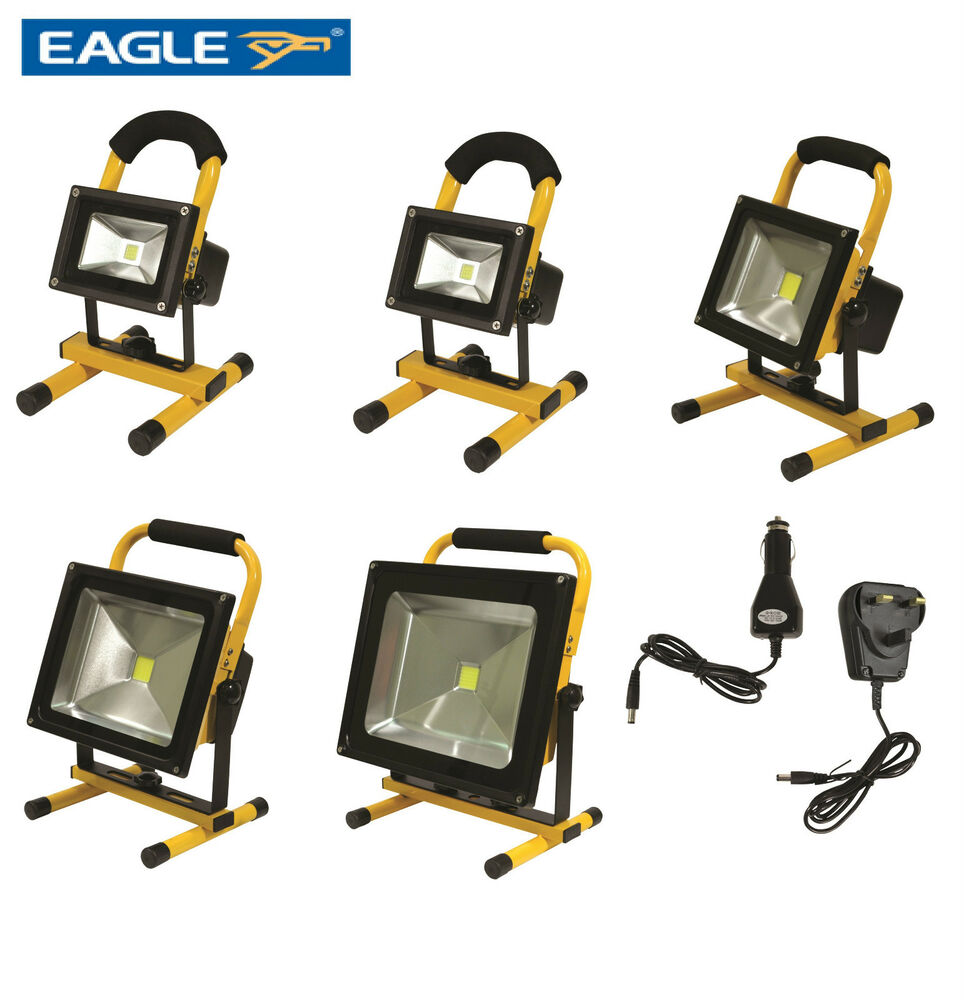 Eagle Portable Led Floodlight Ip65 Rechargeable 12v Work