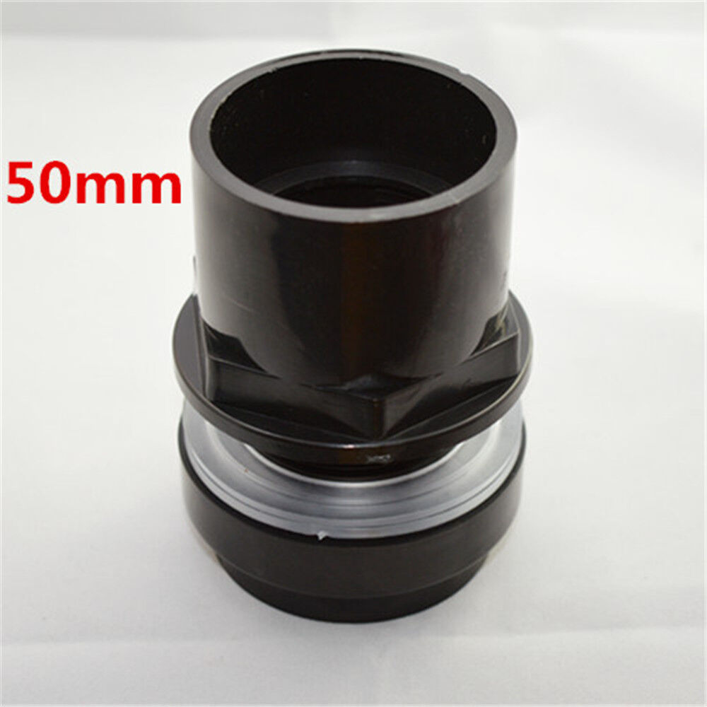 New good mm black diy pvc plastic pipe connector port