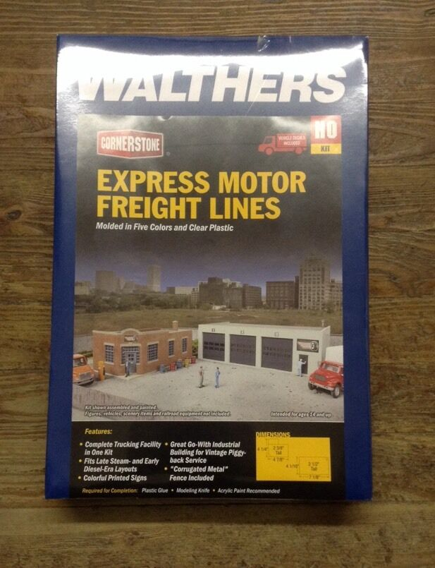 Walthers 933 4049 Ho Express Motor Freight Lines Kit Ebay