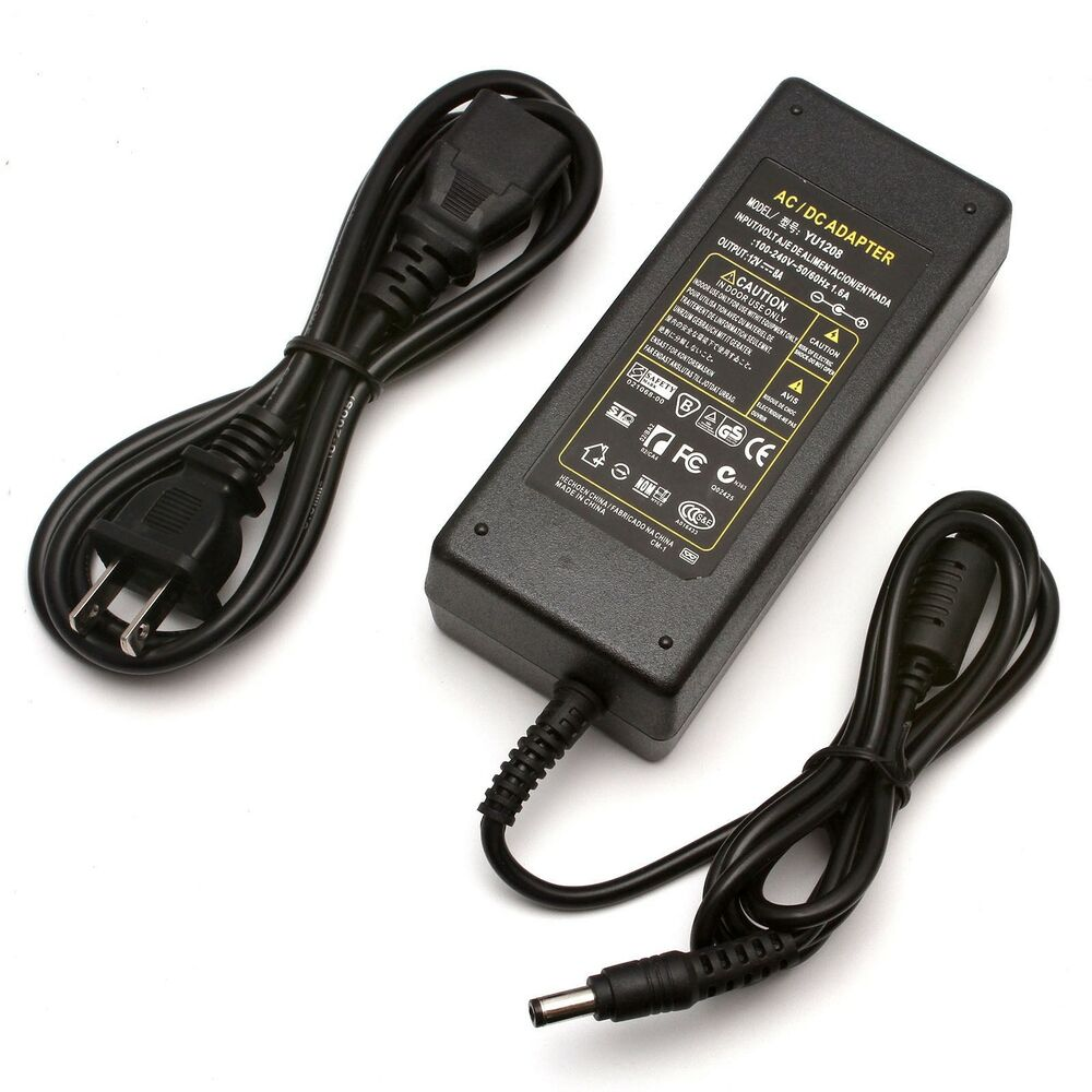 12v 8a 96w ac dc power supply adapter for led light strips 3528 5050 ebay. Black Bedroom Furniture Sets. Home Design Ideas