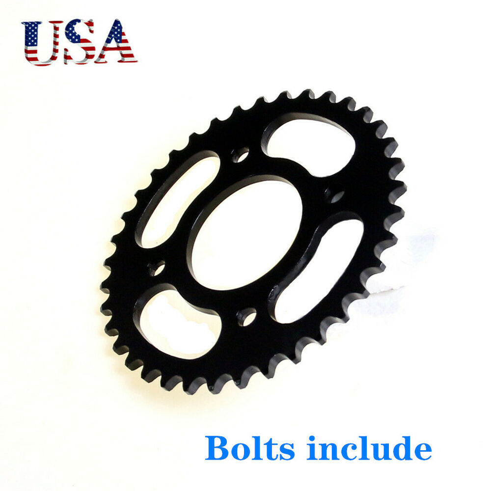 37 Teeth 420 Rear Back Chain Sprocket Cog 125cc Pit Pro Quad Dirt Bike Atv Tu
