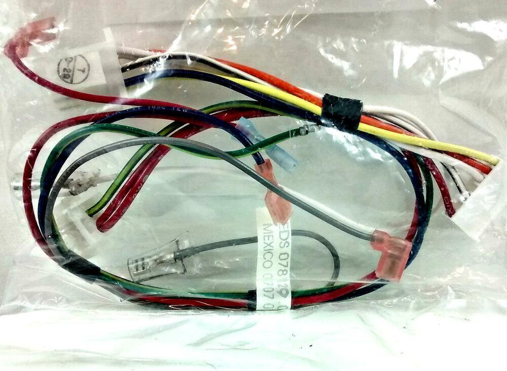 Power Cord Harness : Refrigerator wire harness power cord whirlpool maytag