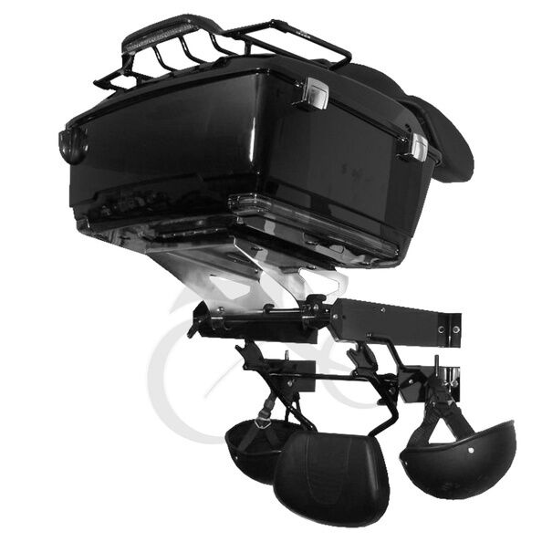 Trunk Tour Pak Wall Mount Storage Rack For Harley Touring