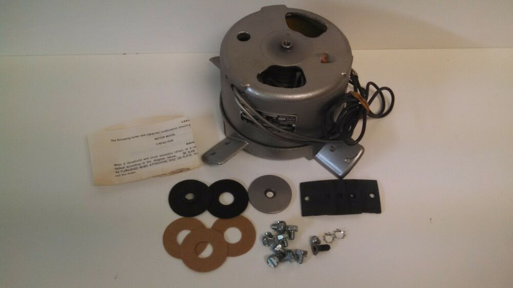 new old stock electric motors and specialties 1 8 hp fan