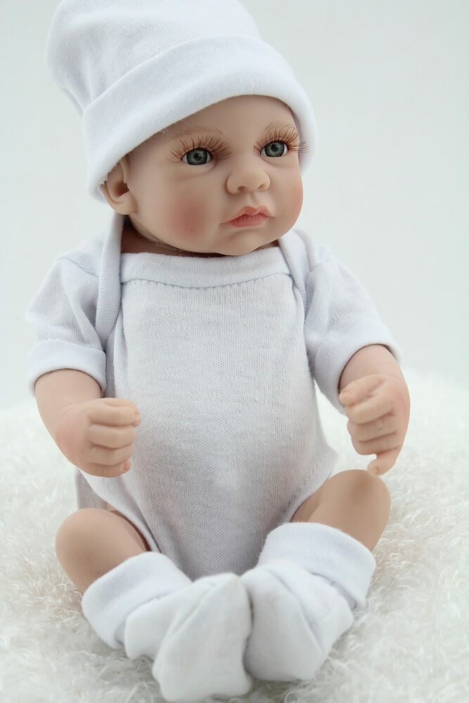 Small Toy Dolls : Quot mini reborn baby boy doll silicone full vinyl
