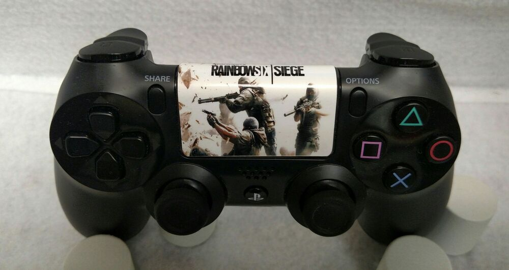 Custom Dualshock 4 Ps4 Controller Touchpad Decal Rainbow