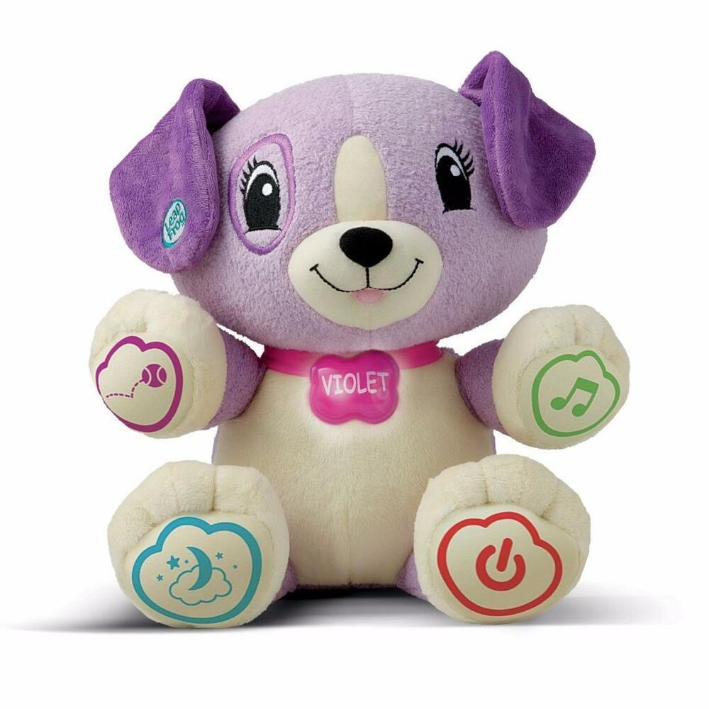 NEW! LeapFrog My Pal Violet Interactive Puppy Dog Talking