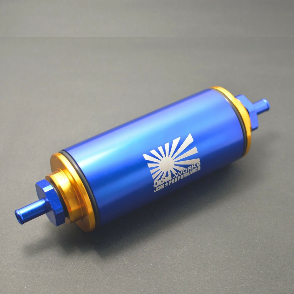 blue 100 micron fuel filter inline an1 stainless steel ss ... vw inline fuel filter inline fuel filter replacement