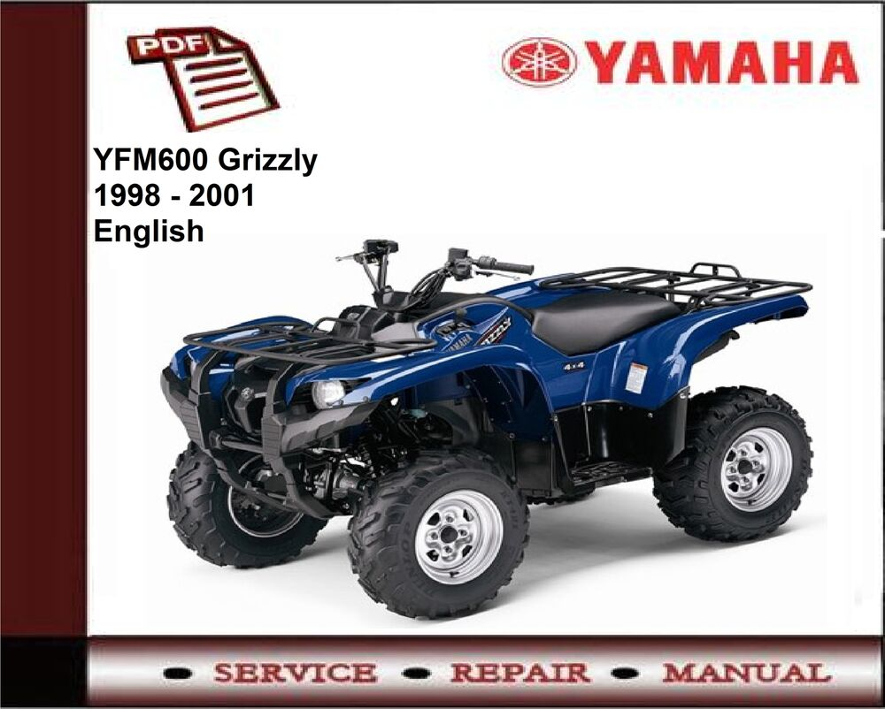 Yamaha YFM600 YFM 600 Grizzly 1998 - 2001 Service Repair Workshop Manual |  eBay