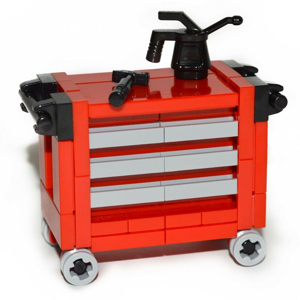 LEGO Furniture Red Tool Chest Set All Parts  : s l1000 from www.ebay.com size 1000 x 1000 jpeg 74kB