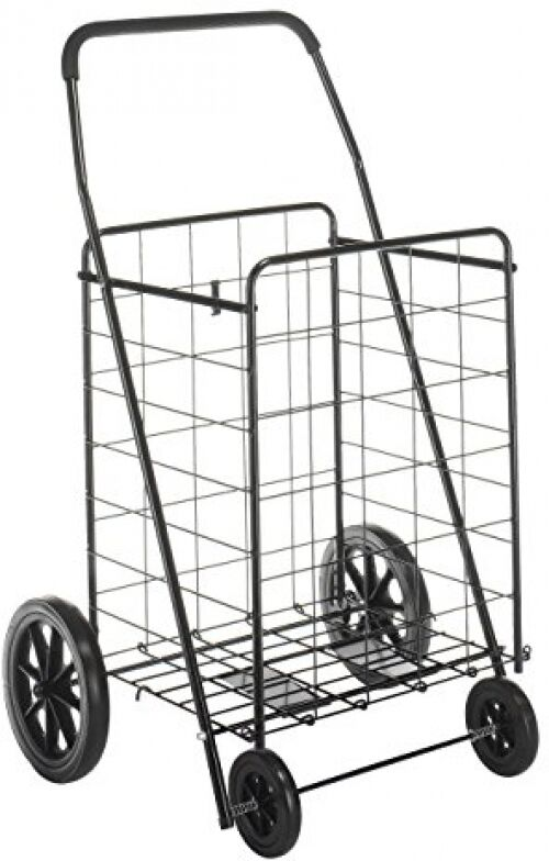 laundry cart on wheels black shopping cart trolley folding laundry basket heavy 10536