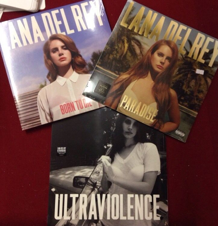 Lana Del Rey Ultraviolence Born To Die Paradise Lp Set