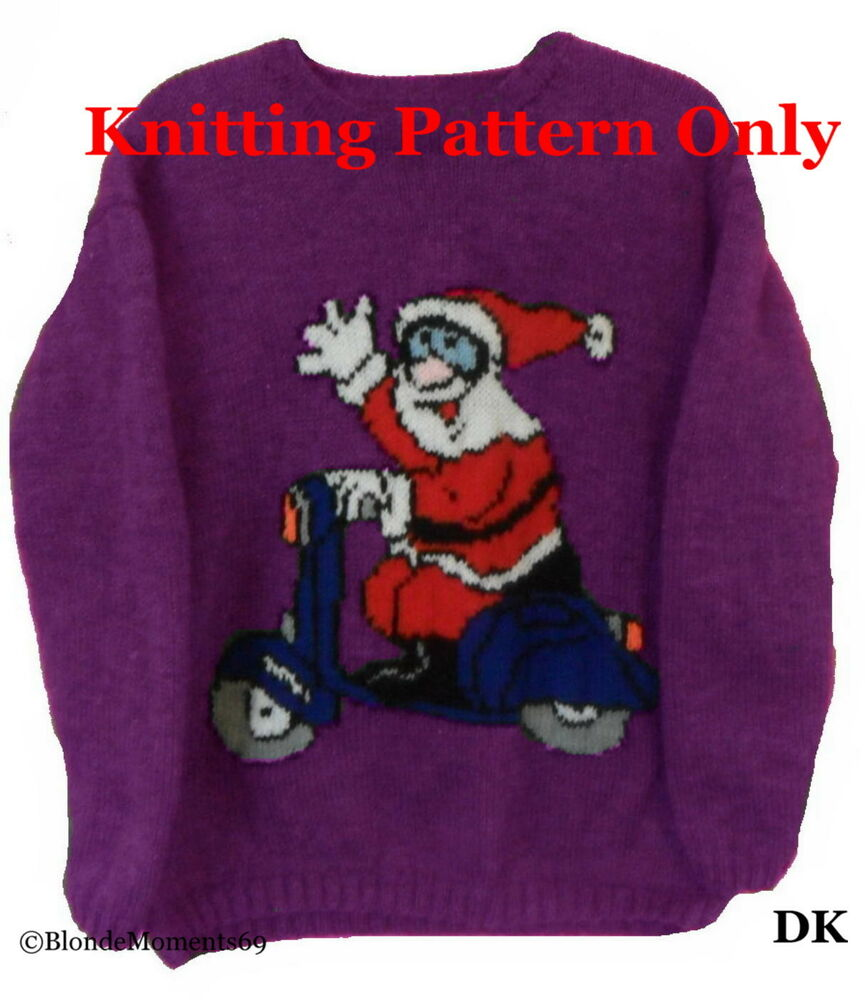 Free Christmas Knitting Patterns Jumpers : Knitting pattern for xmas jumper anaf