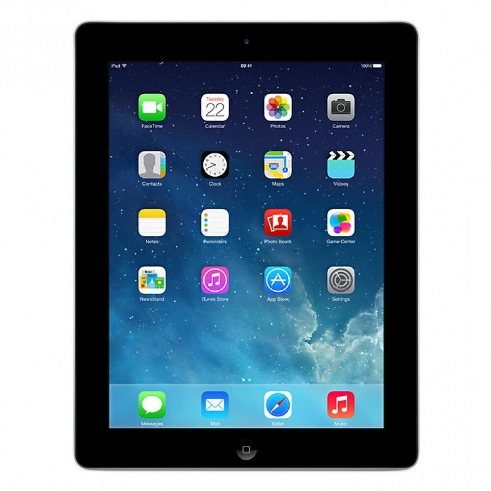 apple ipad 2 16gb wi fi black 2nd generation. Black Bedroom Furniture Sets. Home Design Ideas