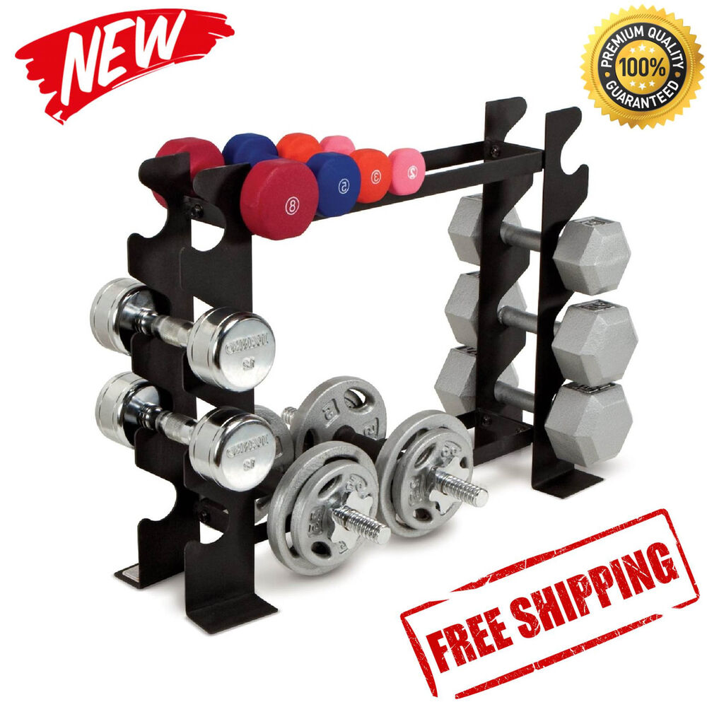 Exercise Barbell Dumbbell: Dumbbell Rack Fitness Weight Barbell Gym Home Workout