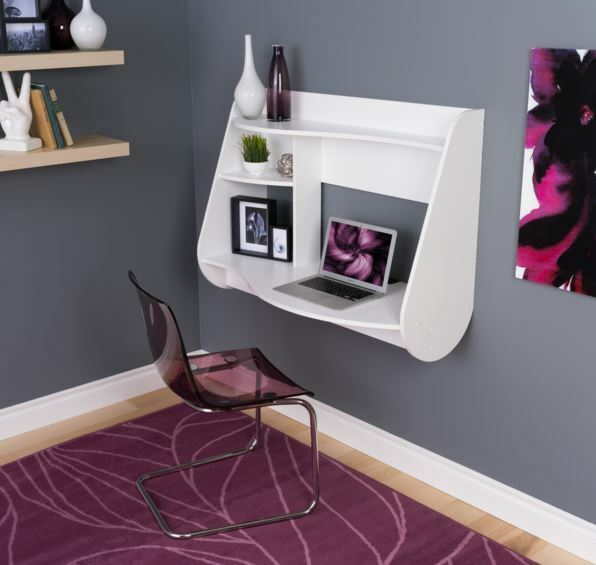 Floating Wall Mount Home Office Laptop Computer Desk