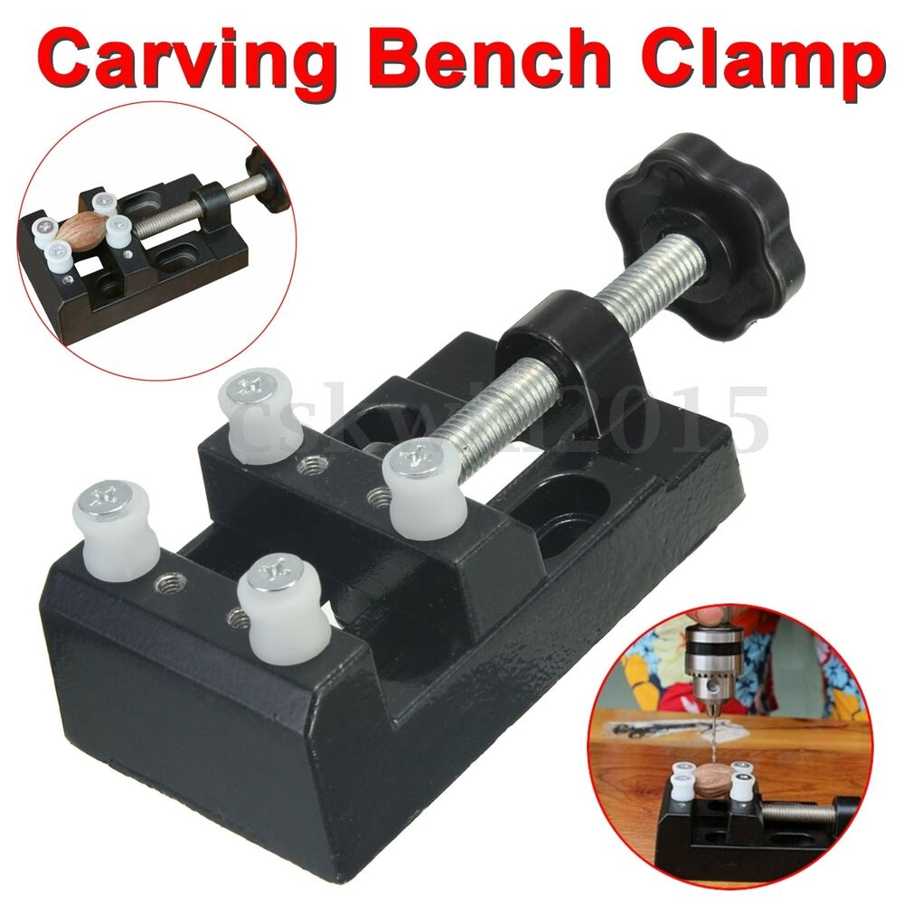 Mini convenient carving bench clamp hand micro clip flat