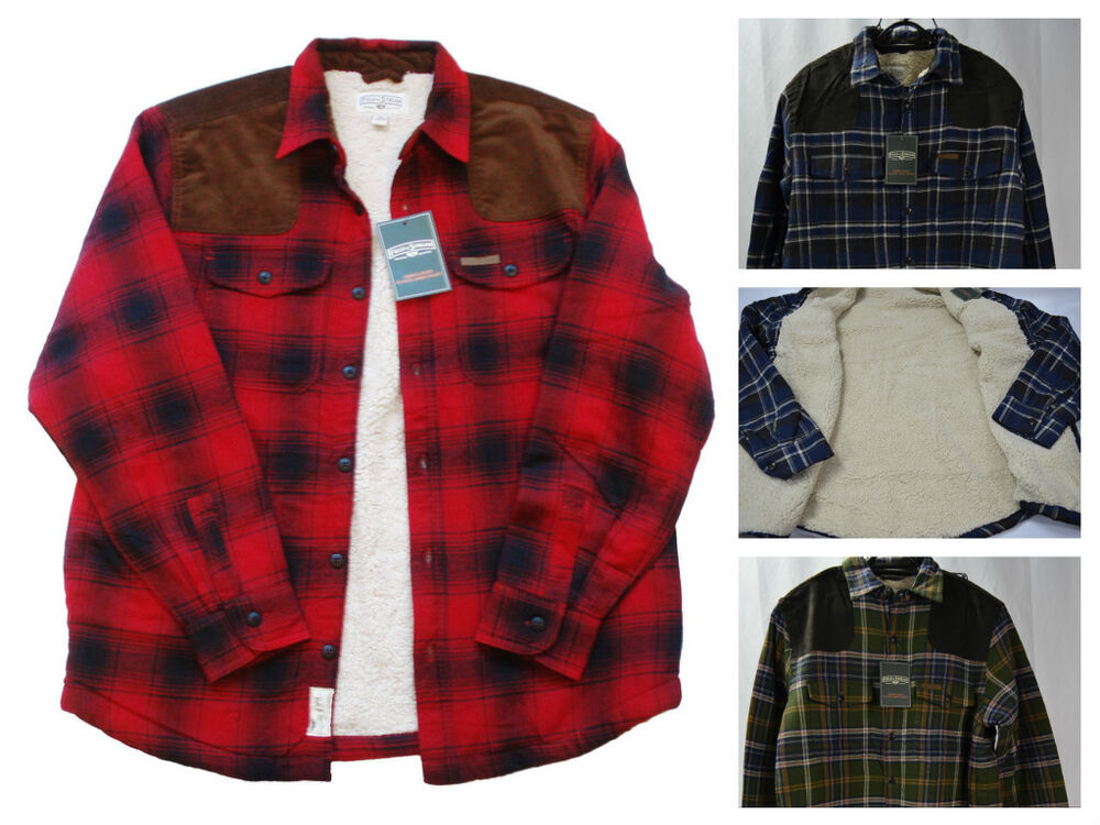 Field Amp Stream Original Outfitter Sherpa Lined Flannel