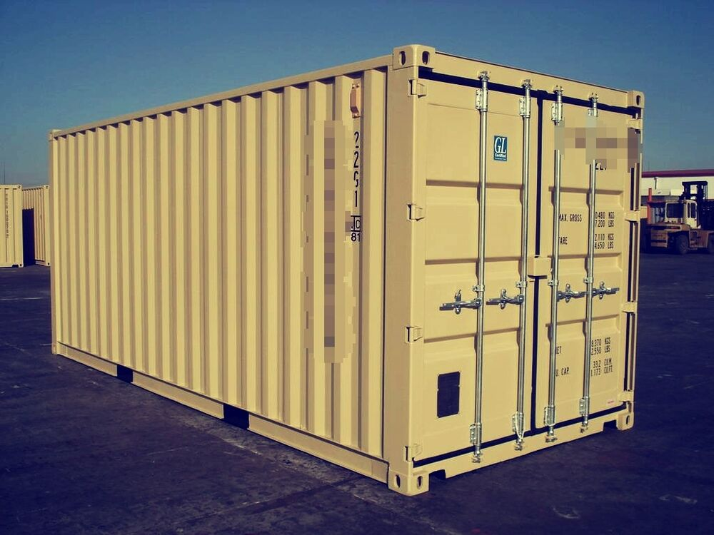40 39 ocean container shipping container storage container in el paso tx ebay. Black Bedroom Furniture Sets. Home Design Ideas