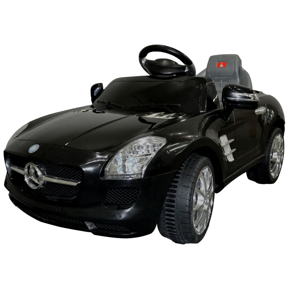 kids ride on car mercedes benz sls amg 6v electric battery remote control new ebay. Black Bedroom Furniture Sets. Home Design Ideas
