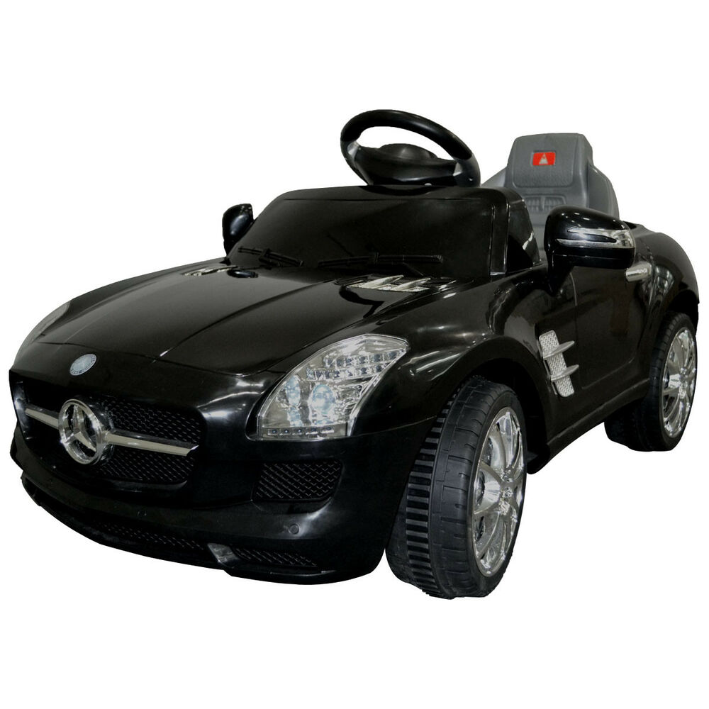 Details About Kids Ride On Car Mercedes Benz Sls Amg 6v Electric Battery Remote Control New