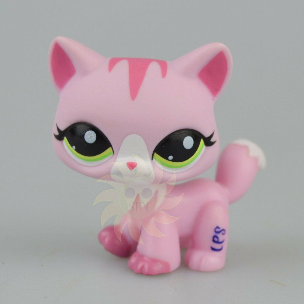 Littlest Pet Shop Cat  Pink