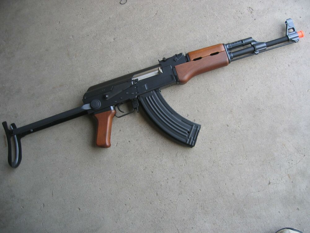 de ak 47s metal electric airsoft rifle gun 410 fps aeg ebay. Black Bedroom Furniture Sets. Home Design Ideas