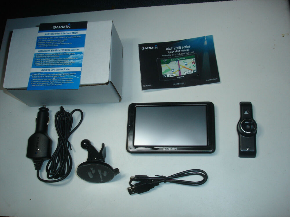 garmin nuvi 2595lmt 5 gps navigation lifetime map. Black Bedroom Furniture Sets. Home Design Ideas