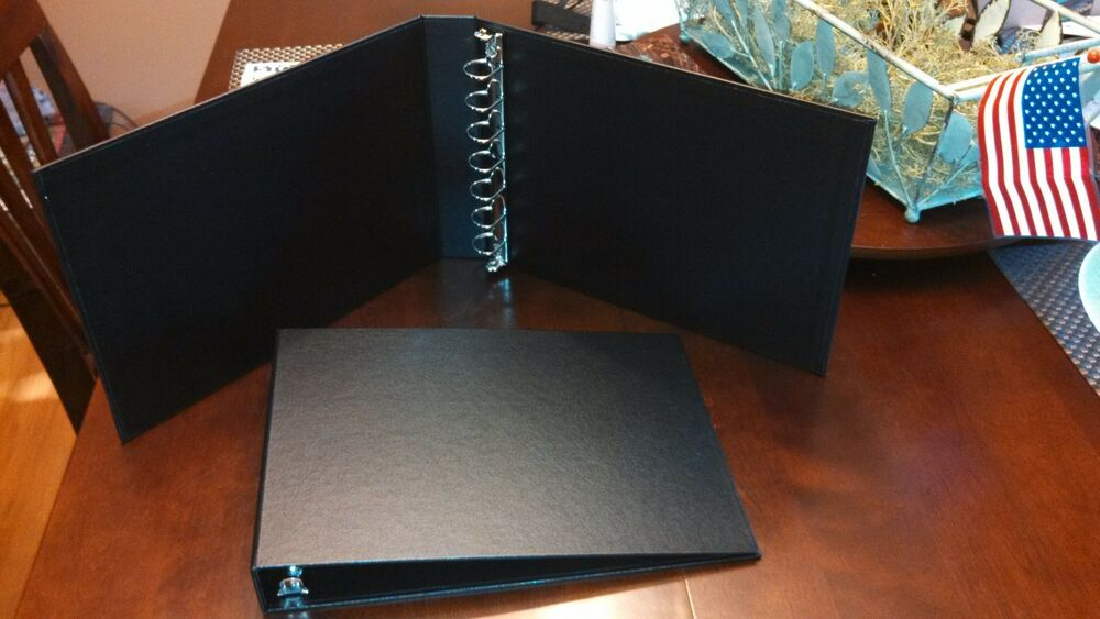 7 Ring Business Check Binder Holds 3 Checks On A Page Made