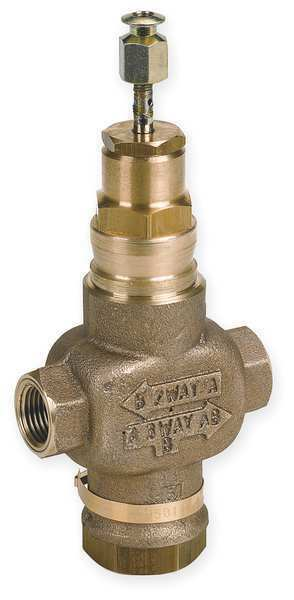 honeywell v5011n1057 two 4 inch 7 3 cv brass