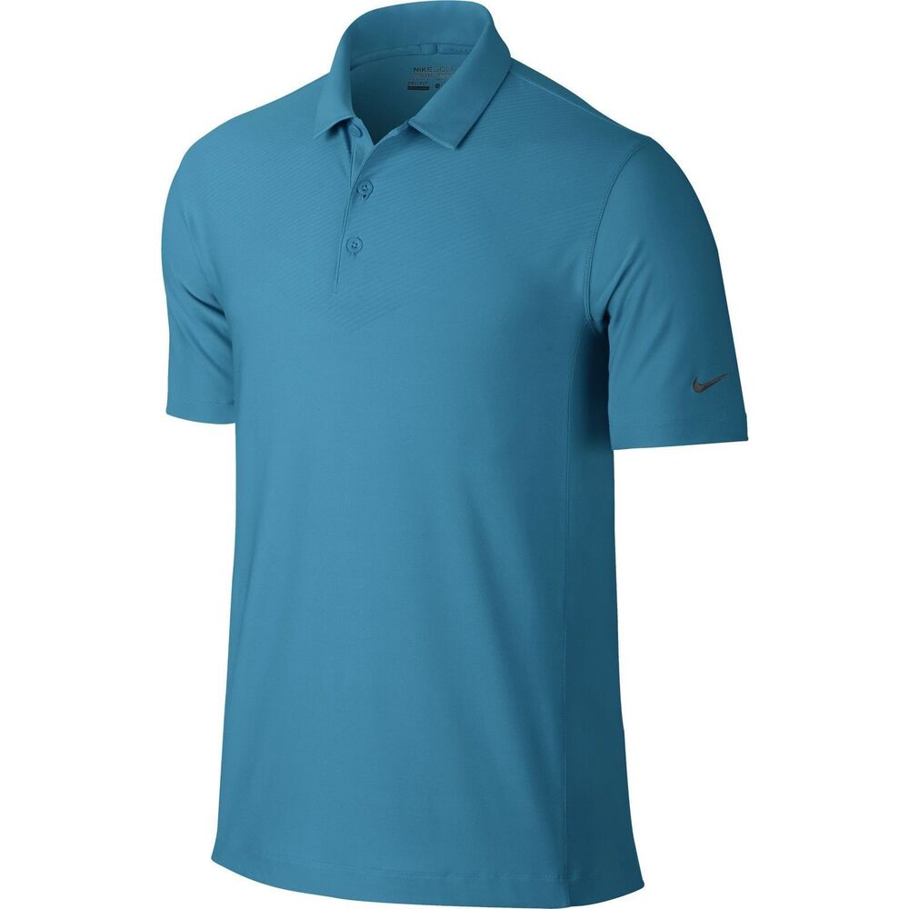 Nwt nike men 39 s dri fit tech embossed polo short sleeve for Dri fit polo shirts for boys
