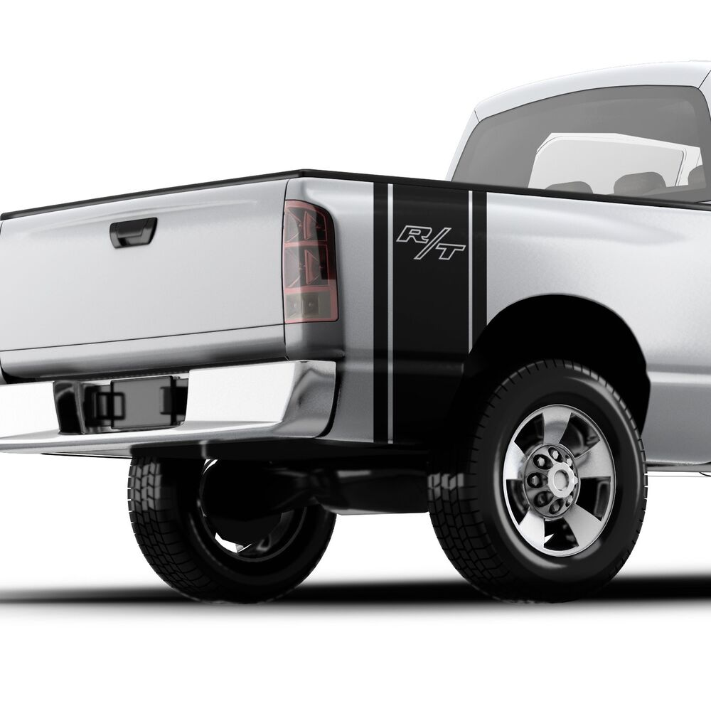 Dodge Ram R T 1500 Hemi Truck Bed Side Vinyl Decal Sticker