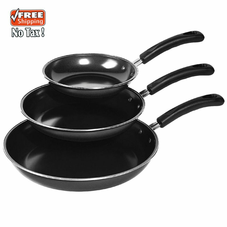 best frying pan 3 non stick fry pan set cookware cooking frying pans 30448