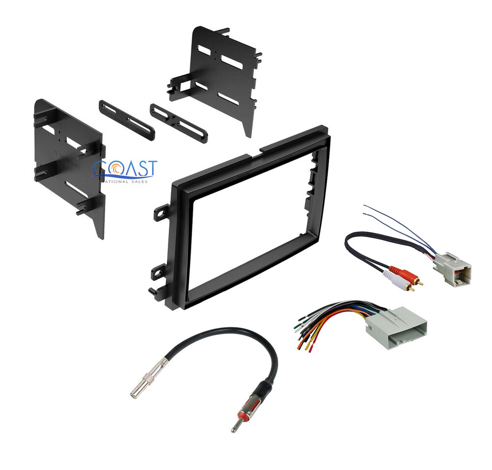 single din stereo dash kit harness antenna for 2004 2011 ford mercury ebay
