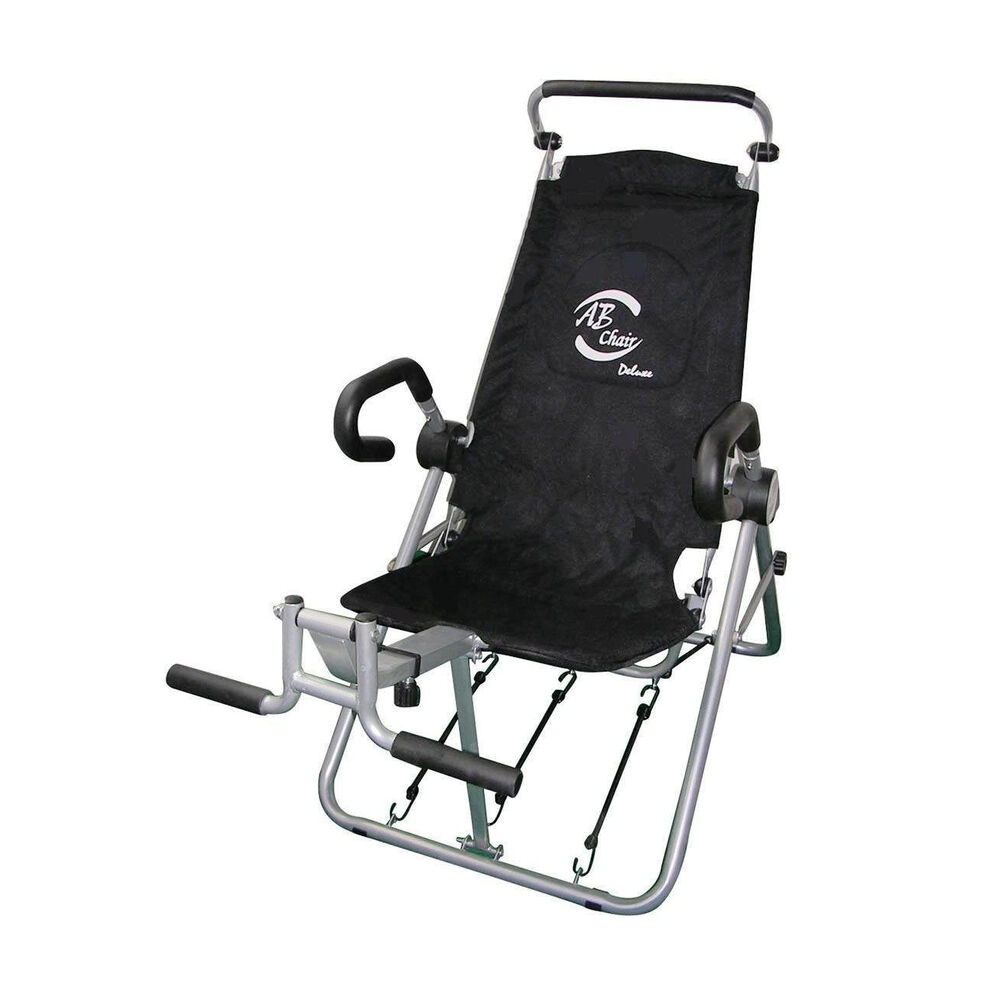 Medicarn Home Ab Chair Deluxe 2 Abdominal Lounge Crunch Exerciser NEW