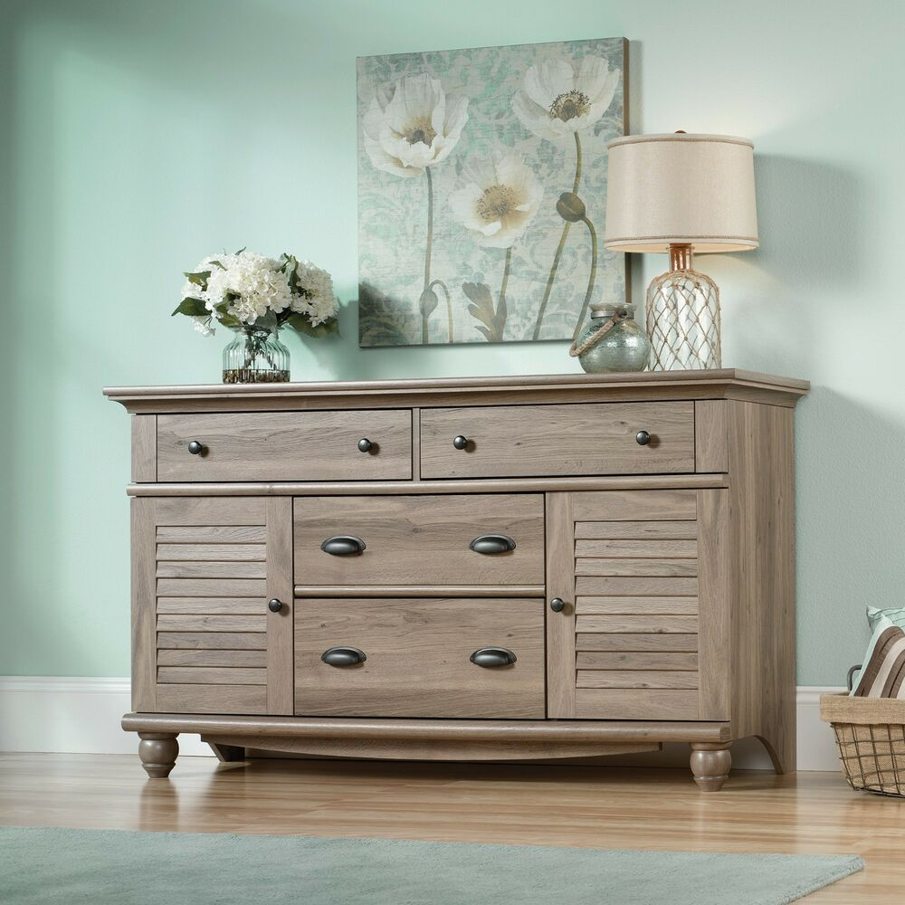 Dresser salt oak harbor view collection 414942 ebay for Furniture oak harbor