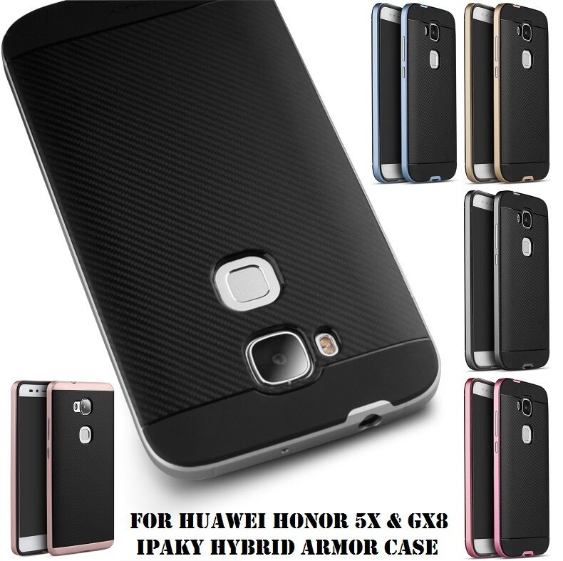 Slim Hybrid ShockProof Armor Skin Back Cover Case for Huawei Honor 8 ...