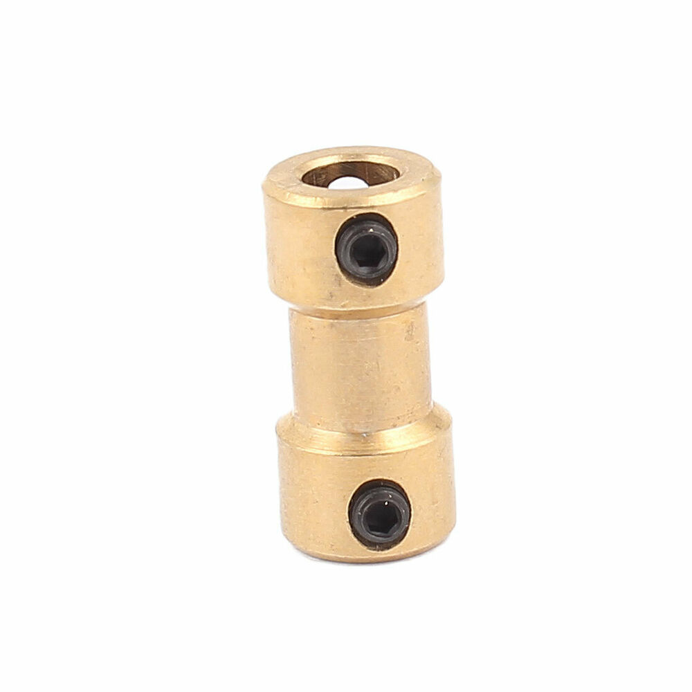 2mm To 5mm Copper Diy Motor Shaft Coupling Joint Connector